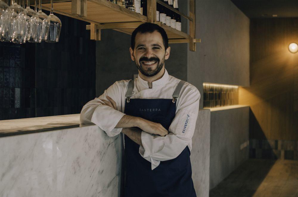 Miguel Carretero, chef de Santerra y Santerra Neotaberna.