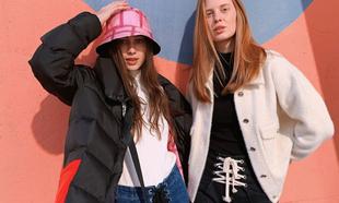 Una de las imágenes del lookbook de las prendas que se venden...