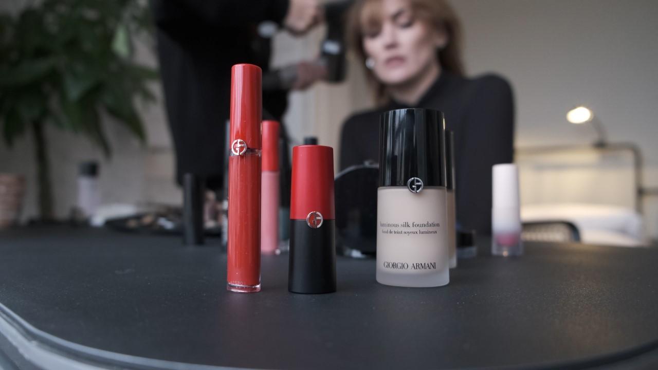 Marta Nieto confía en Armani Beauty para construir sus looks de belleza.