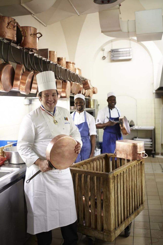 El chef del Elíseo Guillaume Gomez.