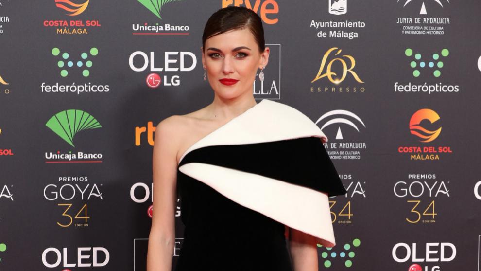 Marta Nieto a su llegada a la Gala de los Premios Goya 2020