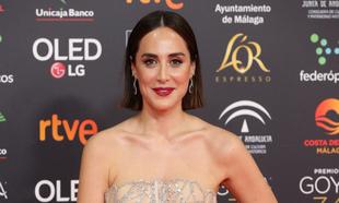 Tamara Falcó impresionante en la gala de los Premios Goya 2020.