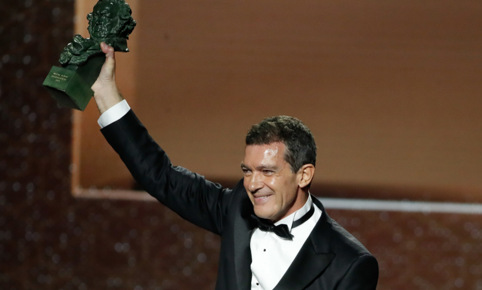 Antonio Banderas, Premio Goya 2020 al mejor actor por Dolor y gloria