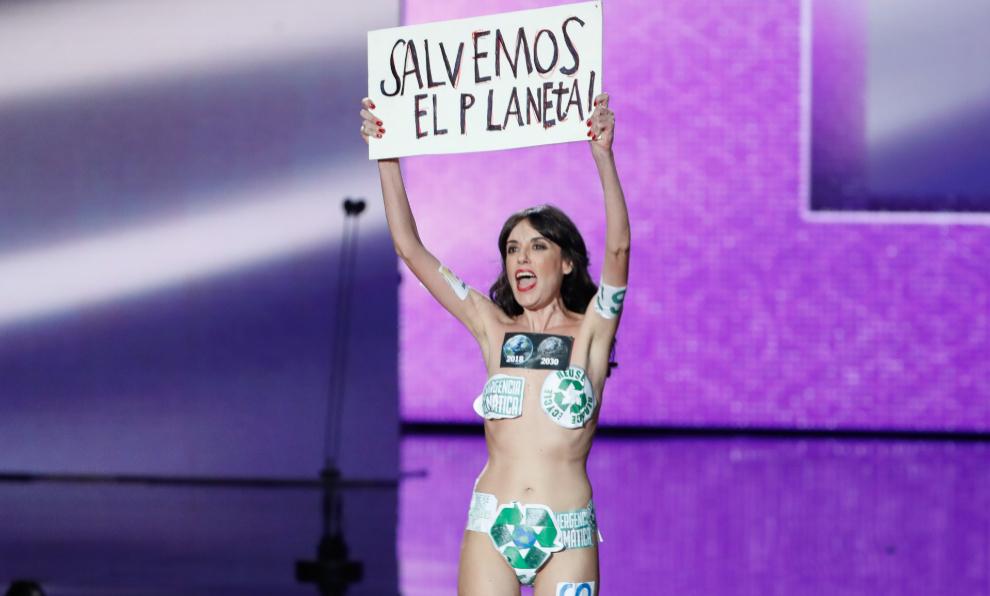 Un momento de la gala de los Goya 2020