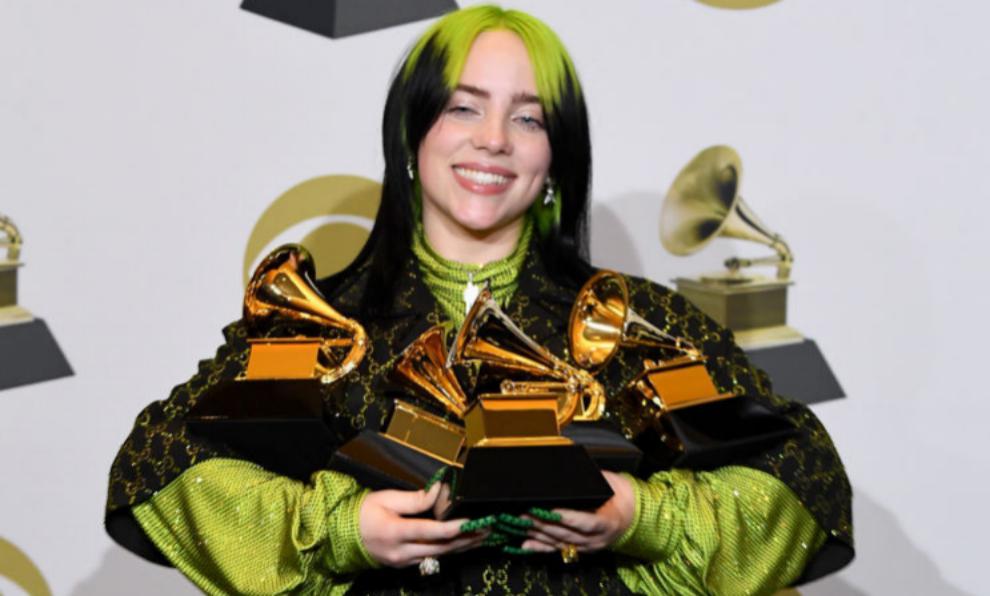 Billie Eilish ha conseguido los cinco grandes Premios Grammy en un...