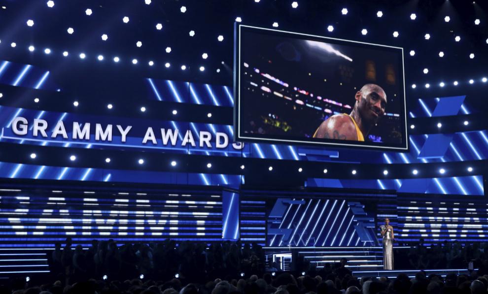 Alicia Keys homenajea a Kobe Bryant durante los Premios Grammy 2020