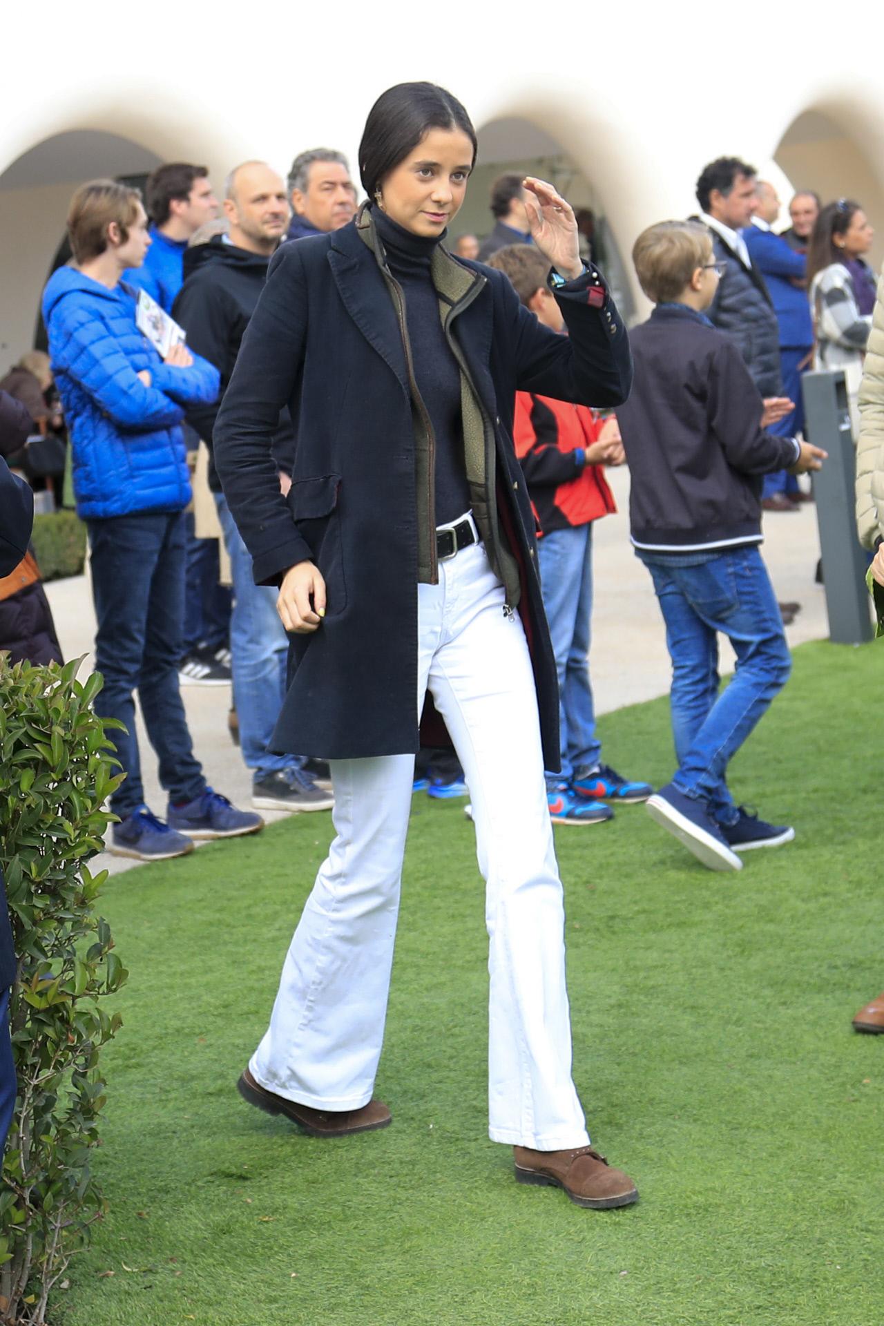 Victoria Federica de Marichalar durante el Gran Premio Memorial Duque...