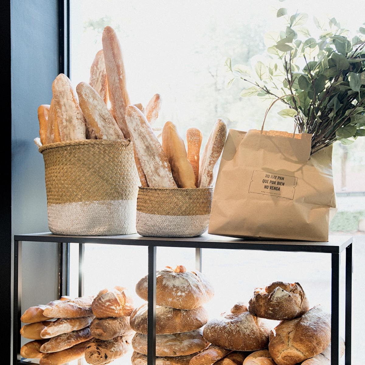Tenemos que leer la etiqueta del pan que compramos.