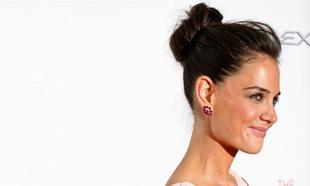 Katie Holmes es la mejor embajadora del moño de bailarina alto y con...