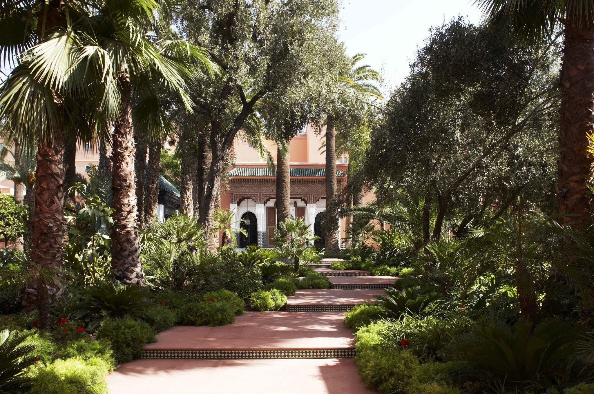 Jardines del Hotel La Mamounia