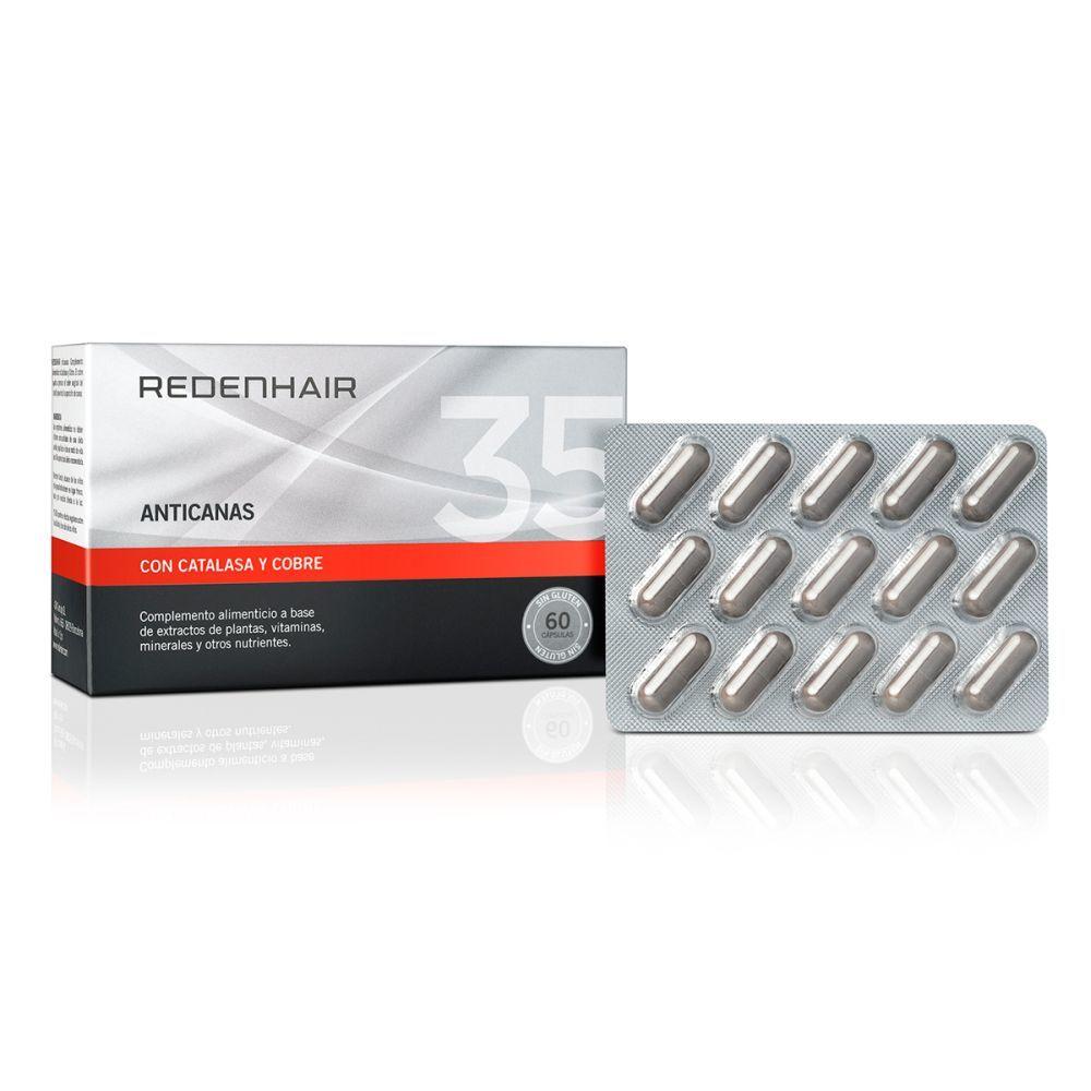 Comprimidos anticanas de Redenhair (42 euros).