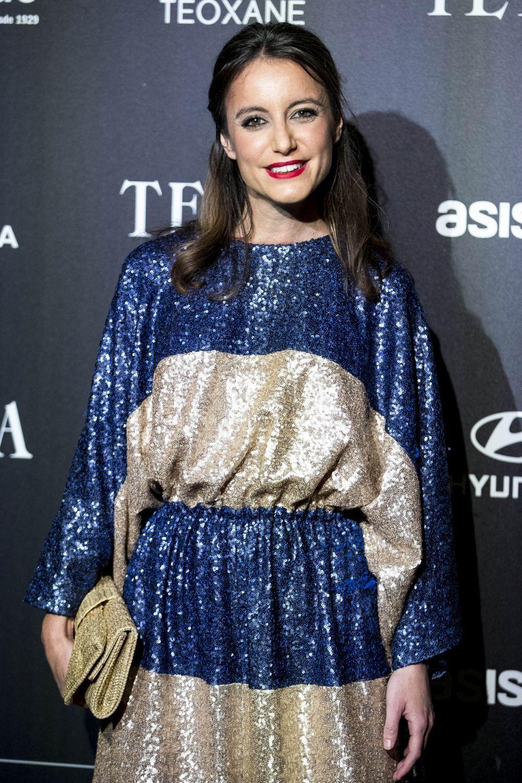 Andrea Levy vistiendo un diseño de Ágatha Ruiz de la Prada