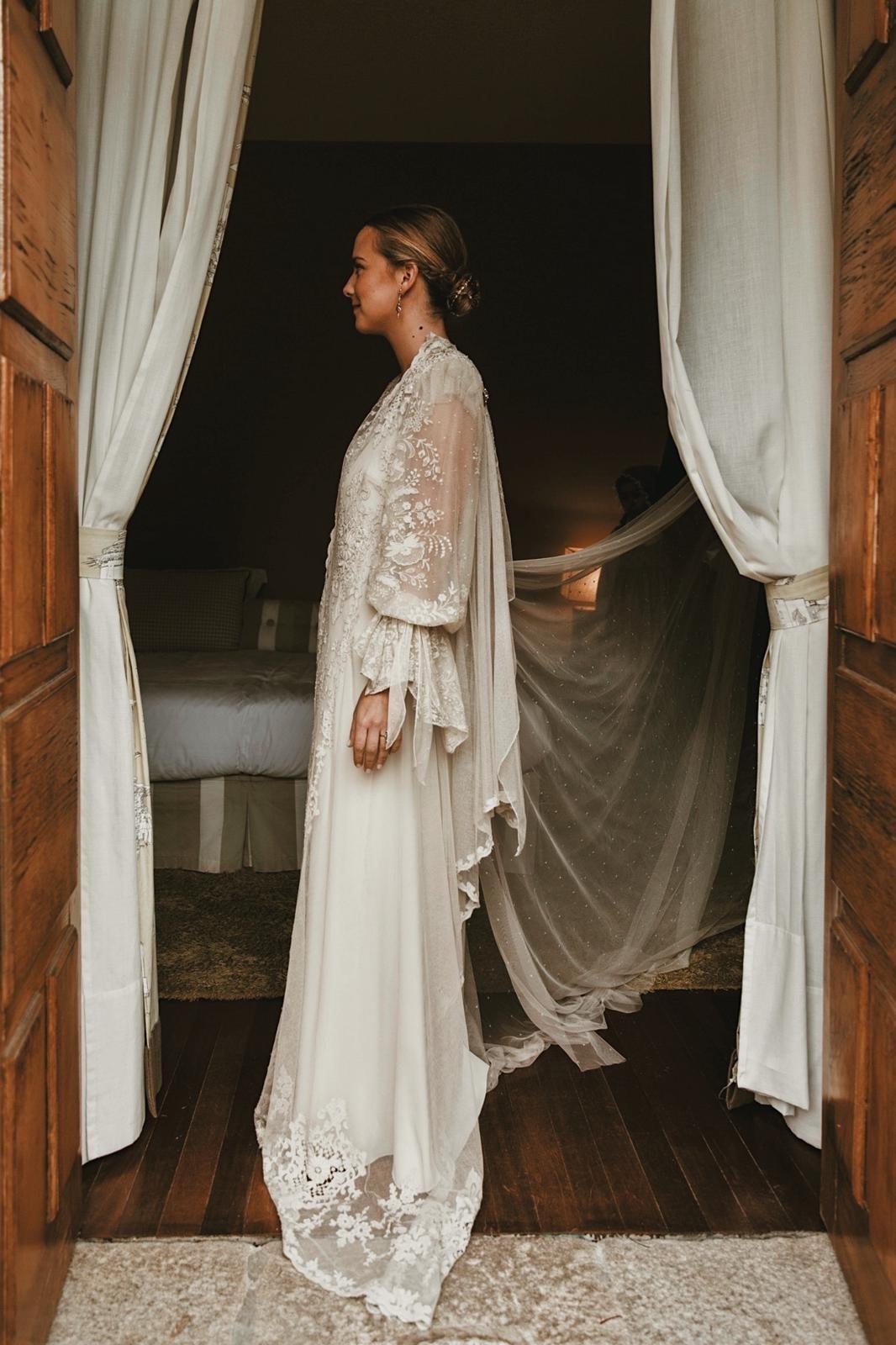 La fotógrafa Pipi Hormaechea el día de su boda.