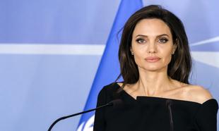 Angelina Jolie en una intervención como embajadora especial de la...