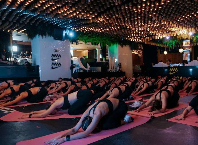 Un centenar de chicas han entrenado en Oh My Club con Magali Dalix.