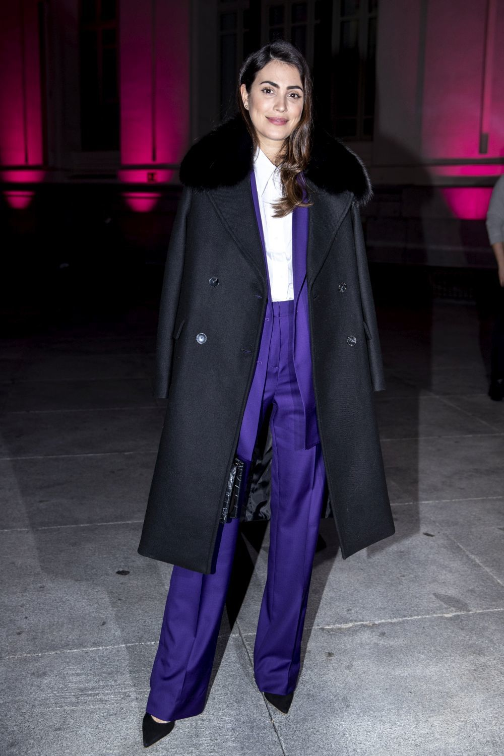 Alessandra de Osma en la Madrid Fashion Week.