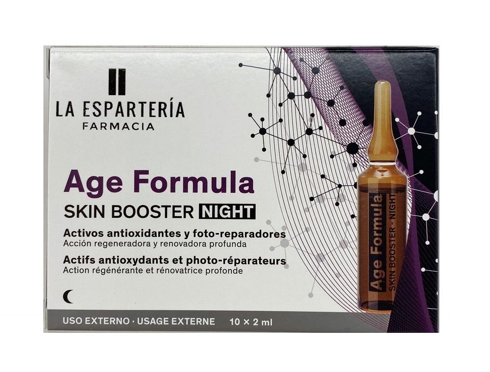 Ampollas de noche antioxidantes + Bakuchiol de La Espartería Farmacia, para ayudar a frenar el envejecimiento de la piel.