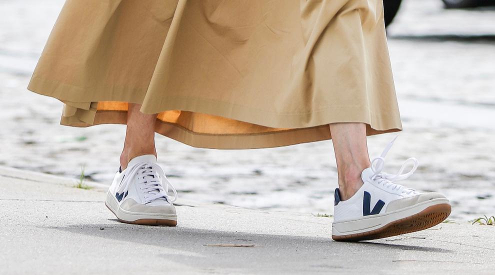 Las zapatillas Veja, éticas y muy trendy.