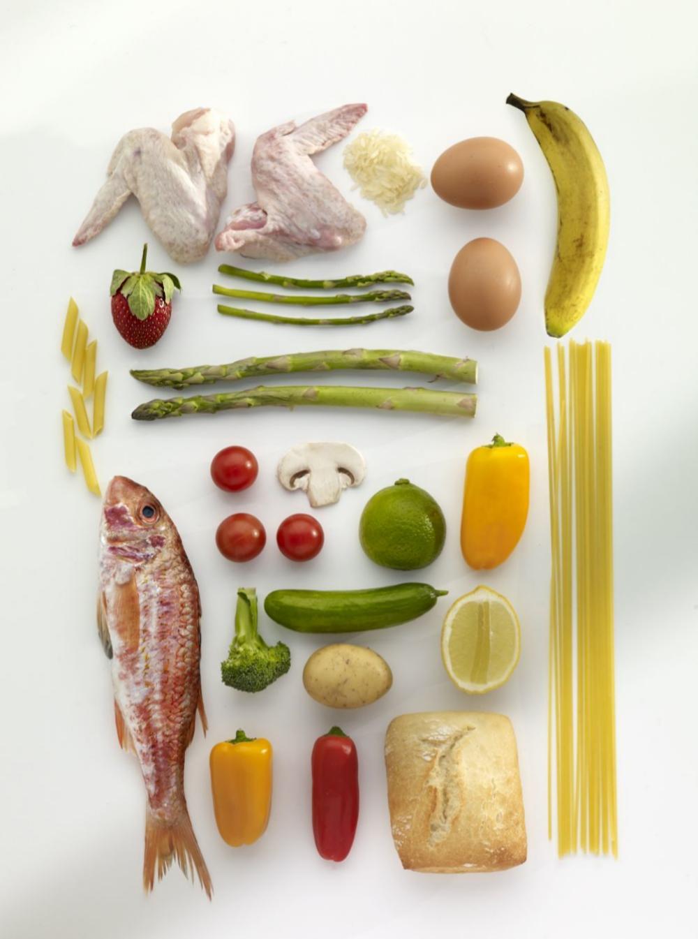 Alimentos recomendados: fruta de temporada, verdura y proteínas de...