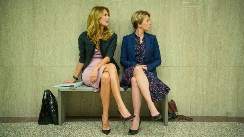 Laura Dern y Scarlett Johansson en Historia de un matrimonio