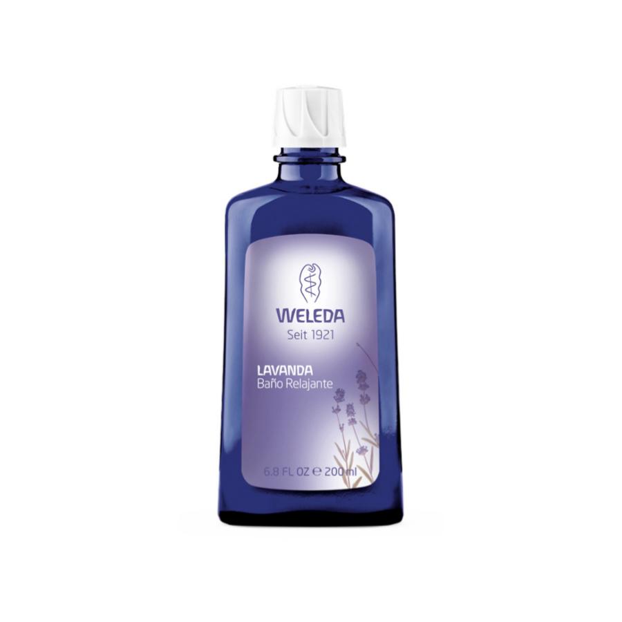 Gel de baño de lavanda de Welleda.