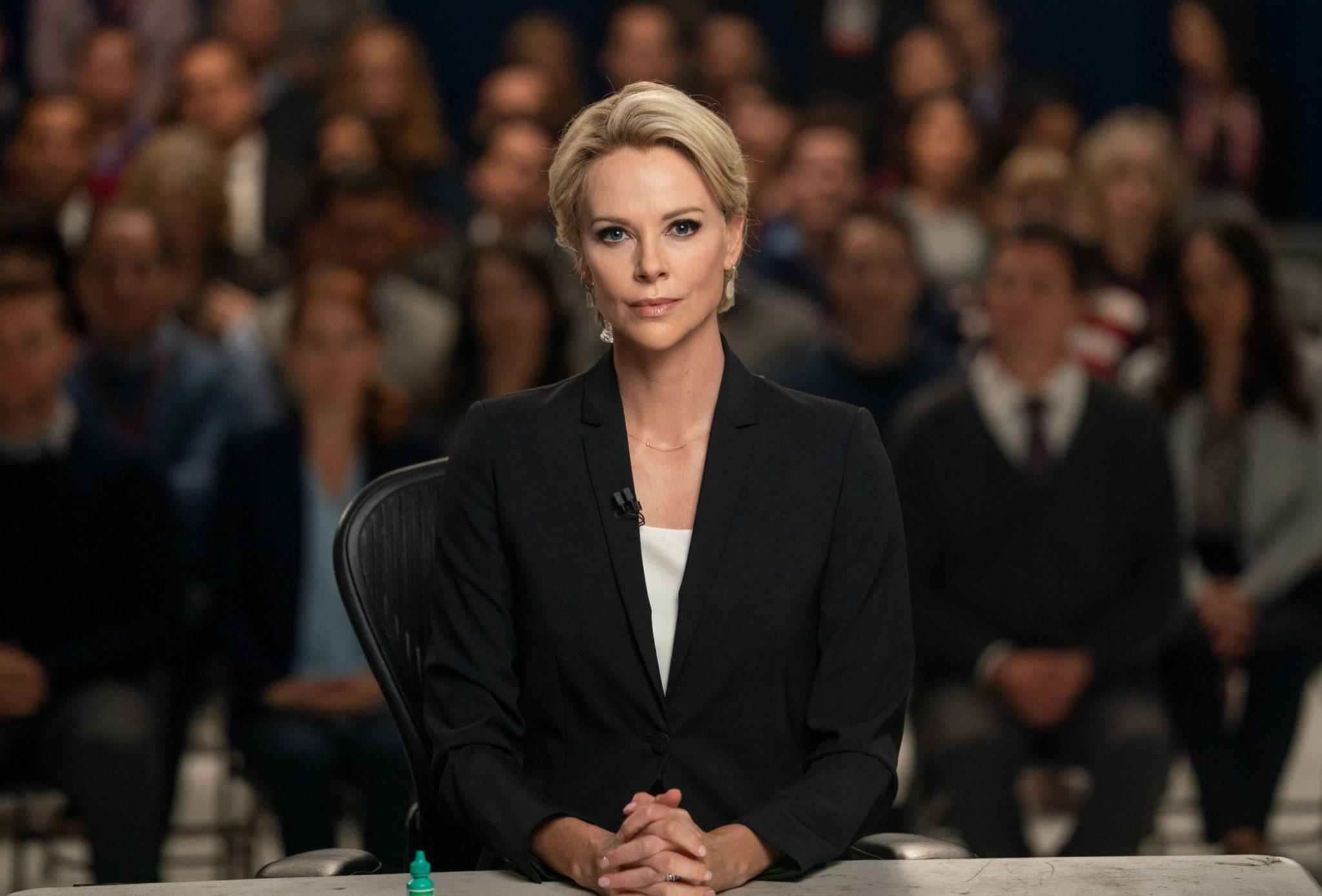 Charlize Theron en El escándalo