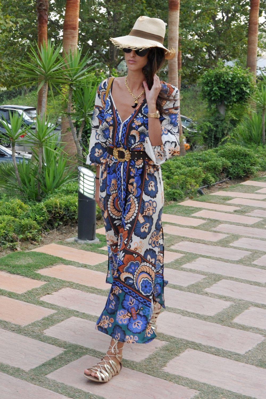 El look estival de  Inés Domecq.