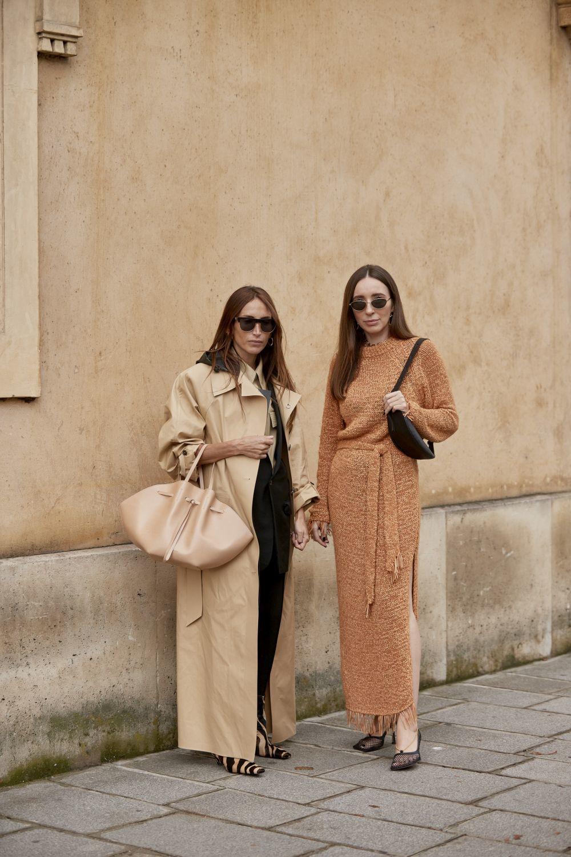 Dos looks vistos en la semana de la moda de París para integrar en este moodboard