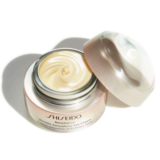 Benefiance Wrinkle Smoothing Eye Cream, de Shiseido (81 euros).