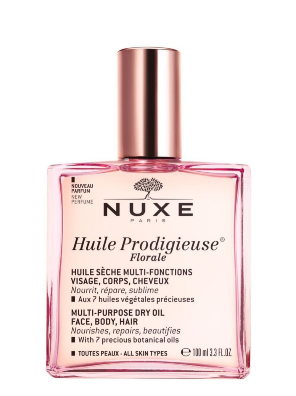 Huile Prodigieuse Florale, Nuxe (29,90 ¤).