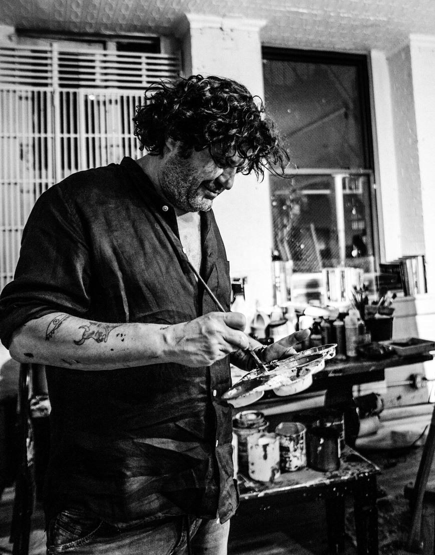 Domingo Zapata realiza cada año una subasta de la obra de diferentes artistas para contribuir a la fundación del Papa Francisco Scholas Occurentes.