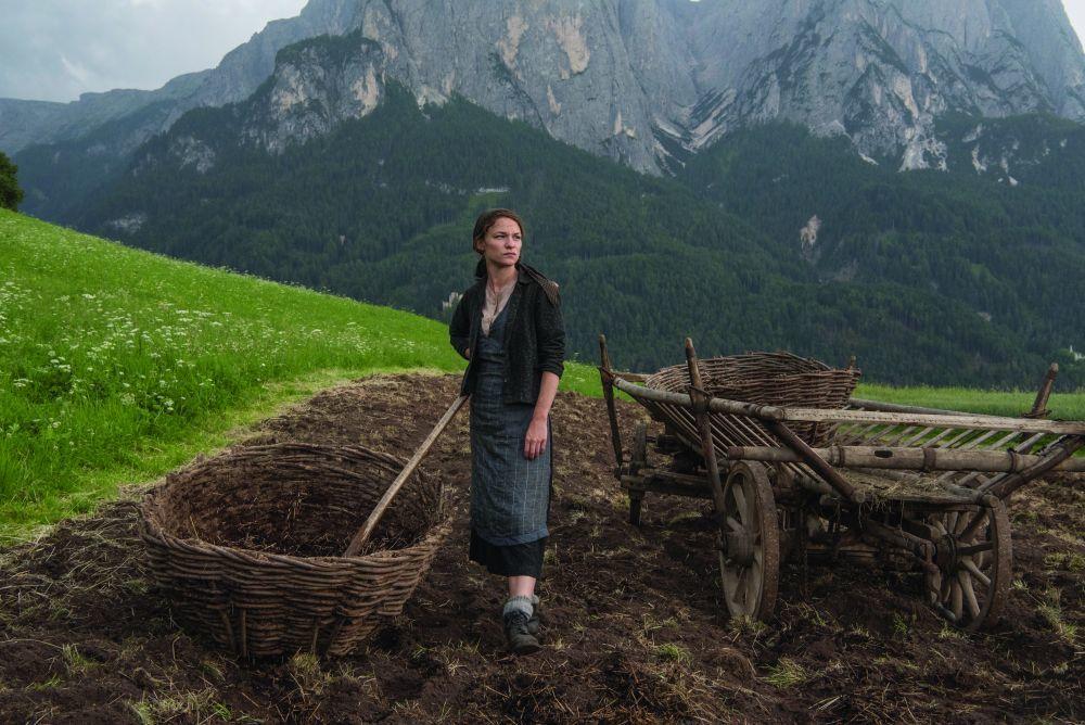 "Para interpretar a Fani Jäggerstatter en ""Vida oculta"", Valerie Parchner aprendió a trabajar la tierra, a segar e incluso a ordeñar vacas."