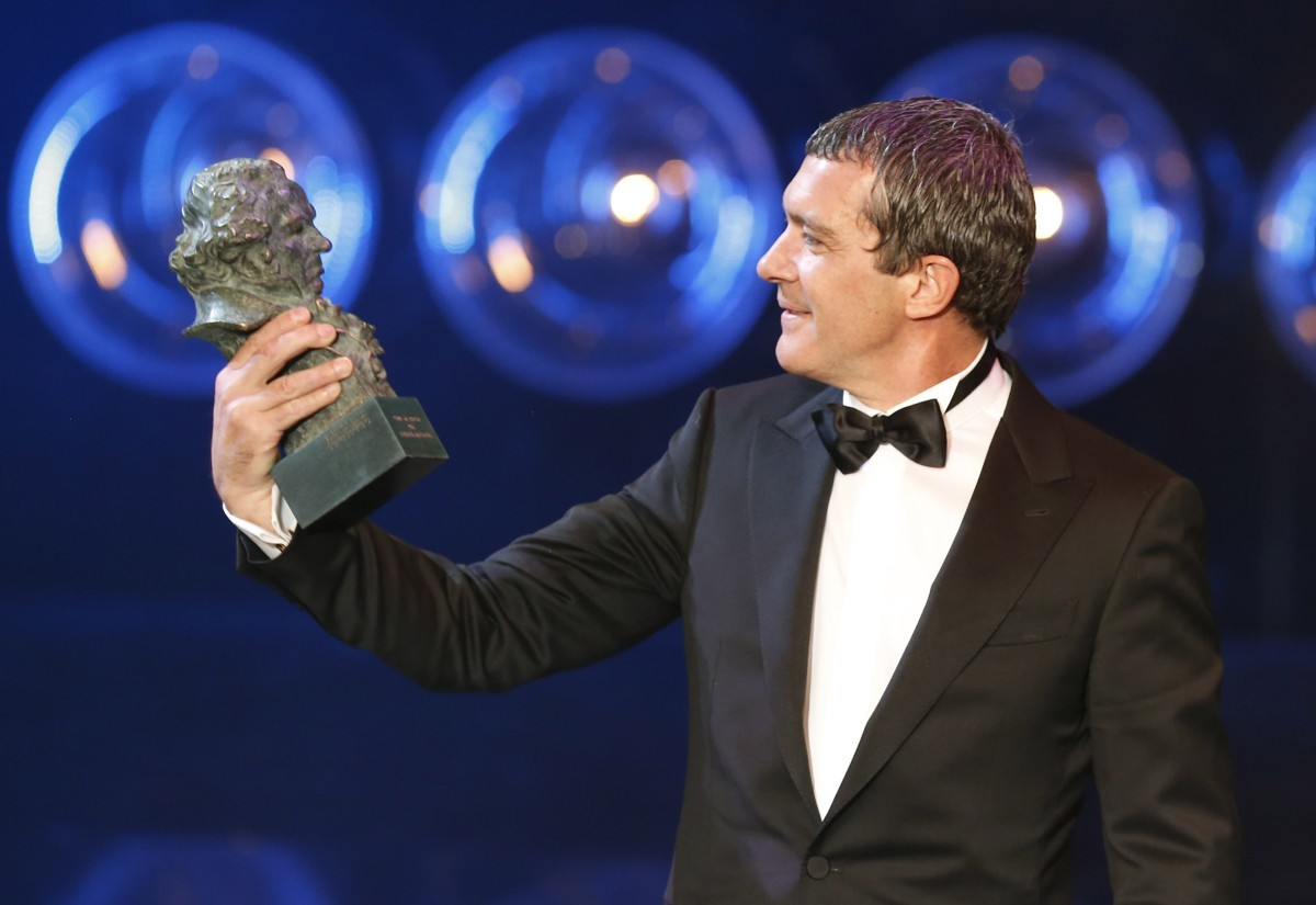 Antonio Banderas, Goya de Honor 2015.