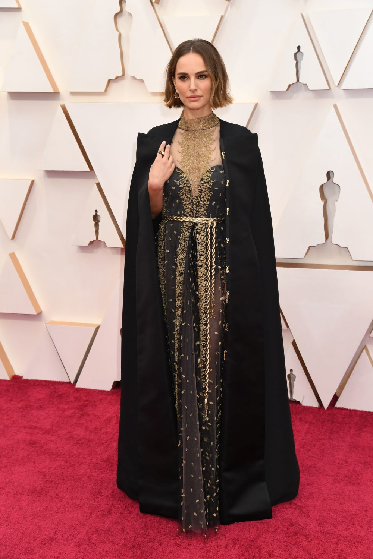 Natalie Portman, de Dior en los Oscar.
