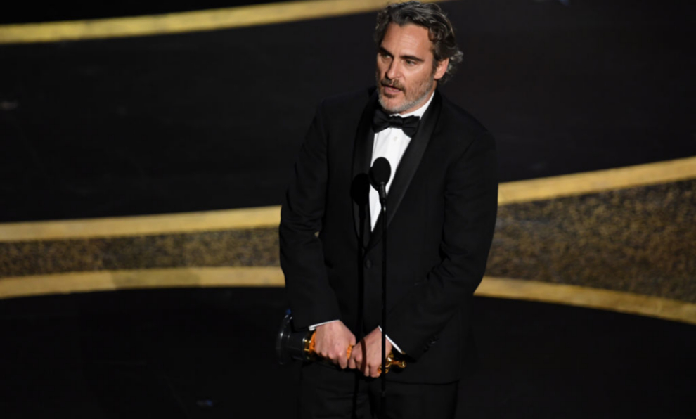 Joaquin Phoenix ha ganado el Oscar a Mejor Actor por su papel en...