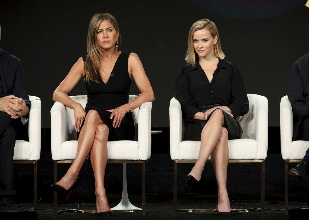 Jennifer Aniston junto a Reese Whiterspoon.