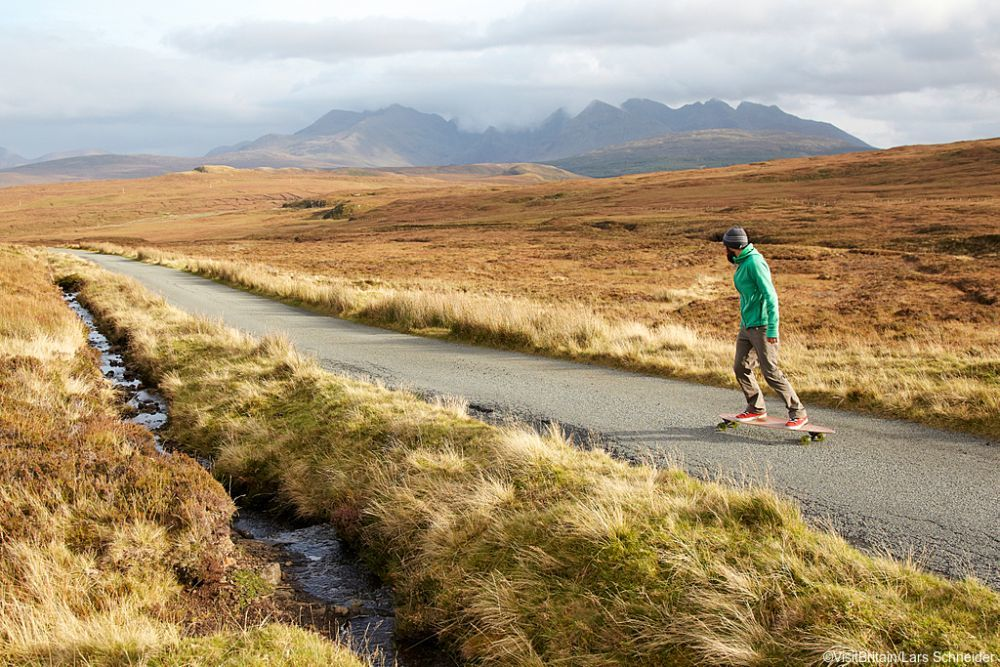 Skye Island. Escocia.