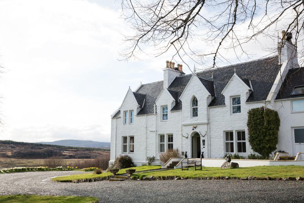 Kinloch Lodge. Skye Island.