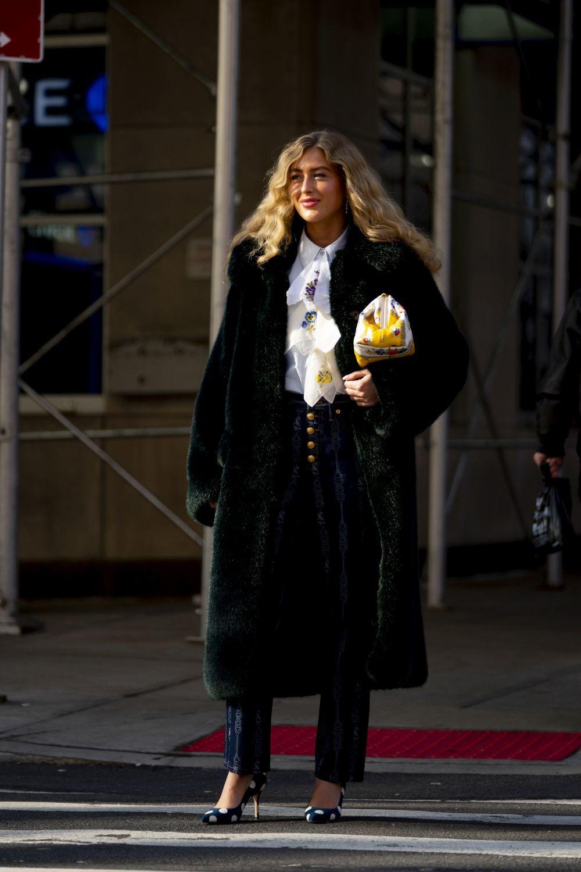 Emili Sindlev en Nueva York.