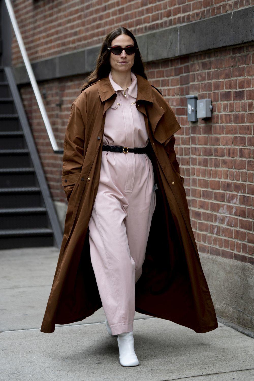 Erika Boldrin en Nueva York.