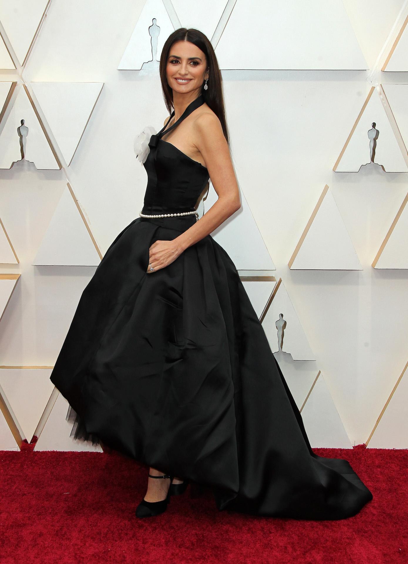 Penélope Cruz con un traje vintage de Chanel