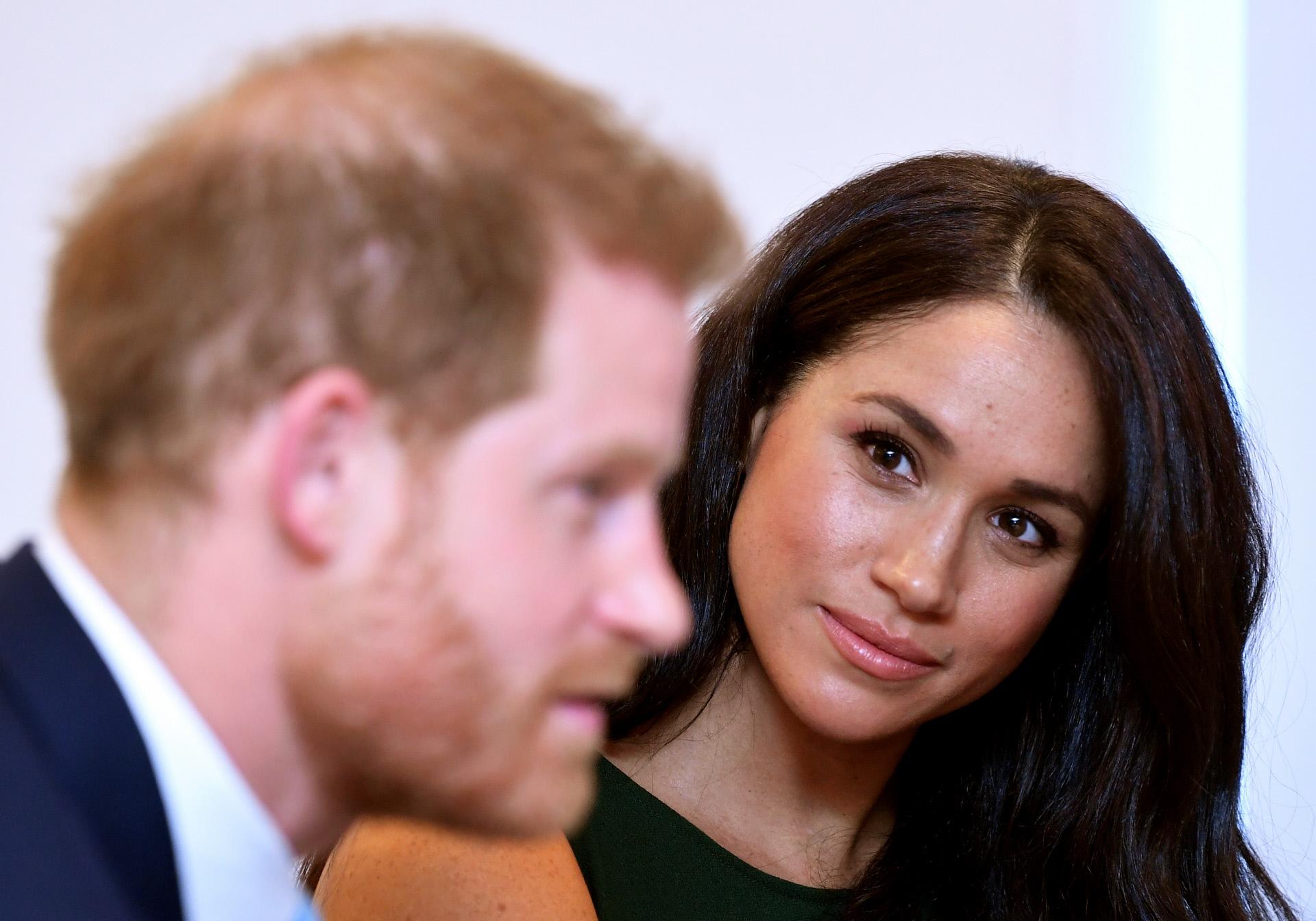 El príncipe Harry y Meghan Markle en los WellChild Awards de Londres