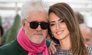 Pedro Almodóvar y Penélope Cruz en el Festival de Cannes 2019