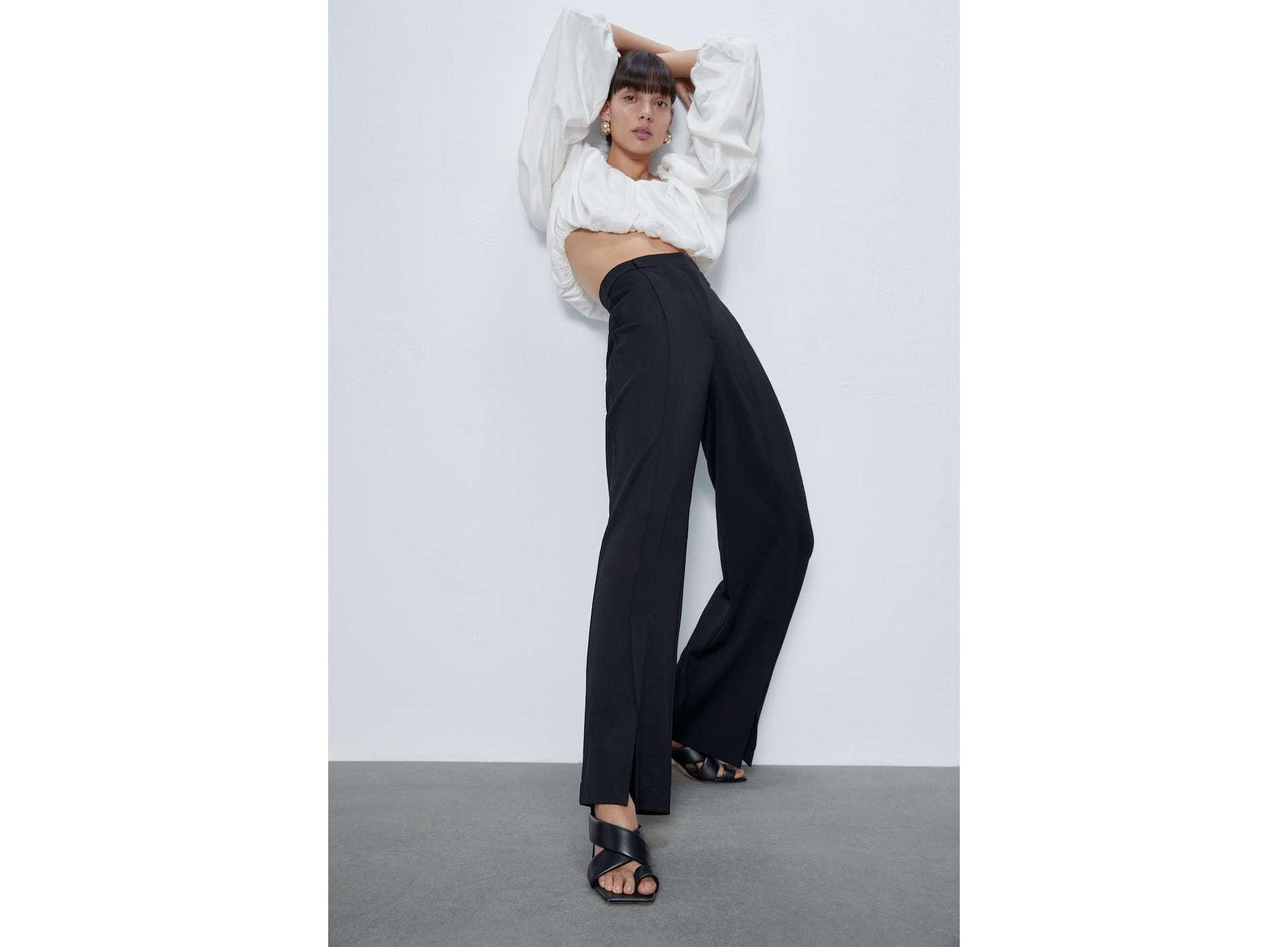 El pantalón de Zara.