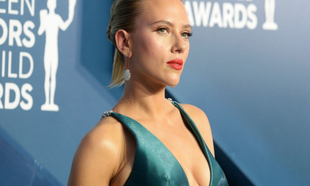 Scarlett Johansson en los Premios del Sindicato de Actores el pasado...