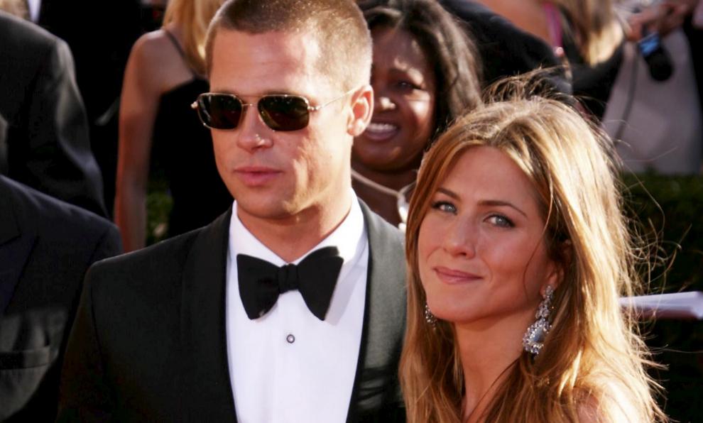 Brad Pitt y Jennifer Aniston paseaban su amor por toda alfombra roja.