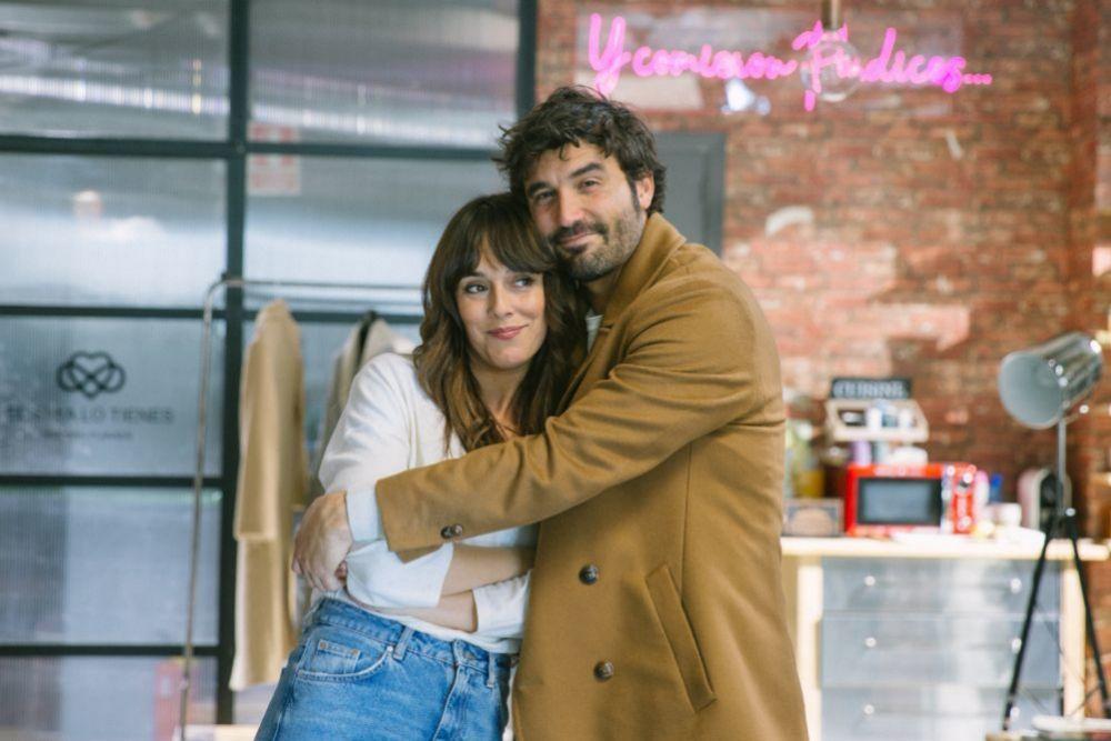 Belén Cuesta y Álex García en Hasta que la boda nos separe