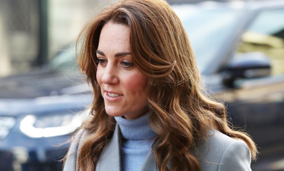 Kate Middleton con una de las prendas tendencia de la temporada