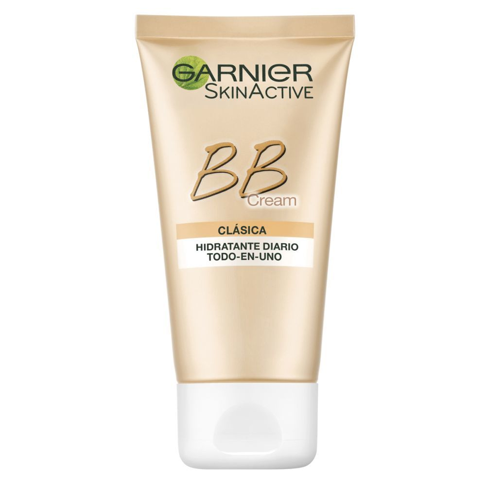 BB Cream crema con color de Garnier.