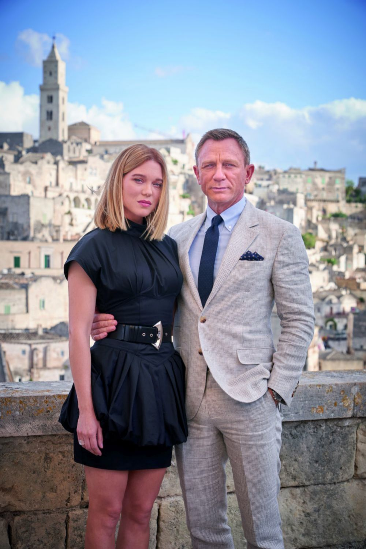 Daniel Craig y Léa Seydoux, protagonistas de No Time to Die